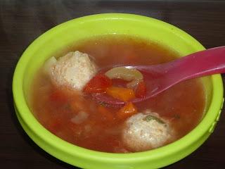Supa de perisoare pentru bebelusi