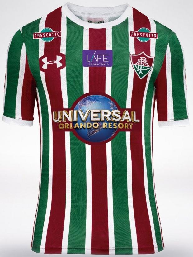 b99468819a Fluminense anuncia novo patrocinador em sua camisa - Show de Camisas