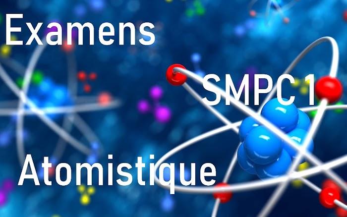 Examens Corrigés Atomistique SMPC S1 PDF