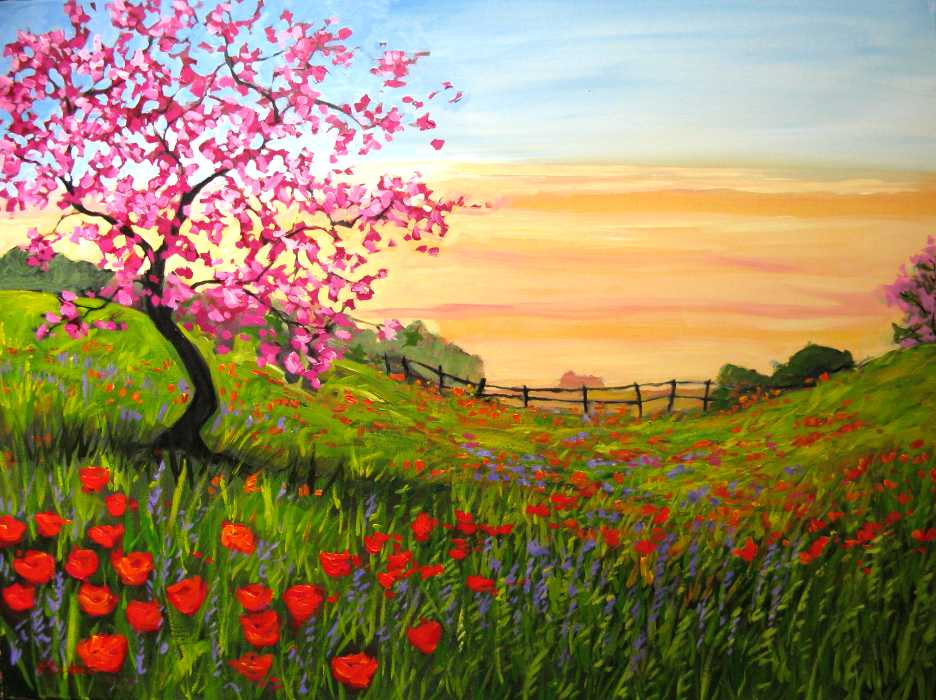 Imagination Painting Acrylic