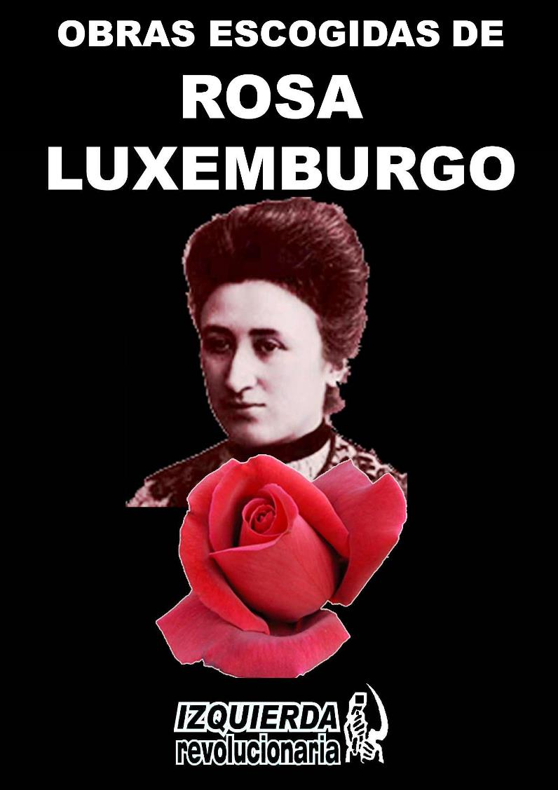 Obras escogidas de Rosa Luxemburgo