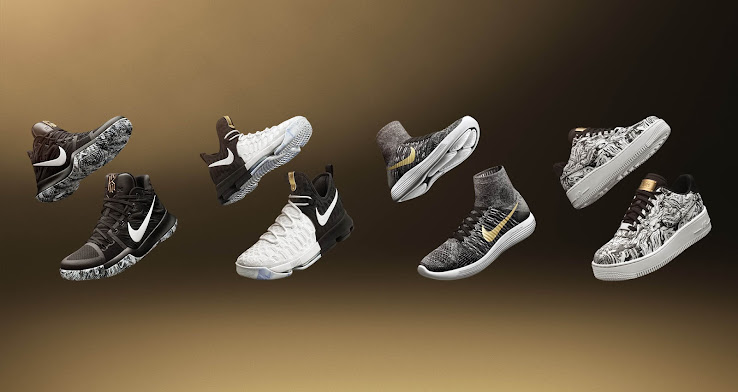 premium selection 04f29 c297f ... More than ten different shoes are included in Nikes brand-new Black  History Month collection  nike lunarepic flyknit ...