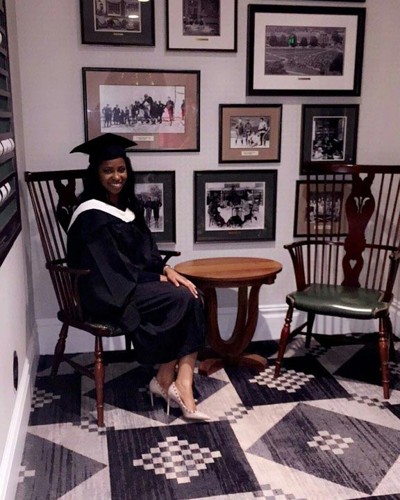 VP Yemi Osinbajo's first daughter bags degree from United States university