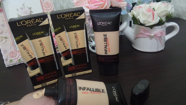 LOREAL PARIS TUBE INFALLIBLE FONDATION