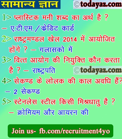 Gk In Hindi -General Knowledge In Hindi 16 to 40 ~ xyz results