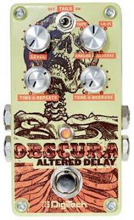 Digitech Obscura Altered Delay Pedal: Características