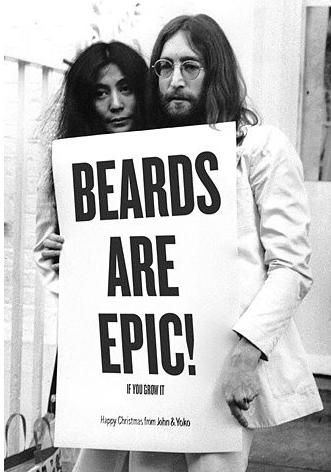 The Smoking Beard Happy Birthday John Lennon!