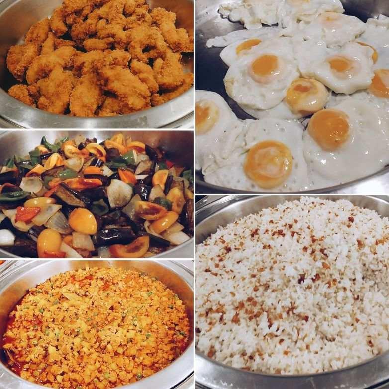 30 Buffet Breakfast selection