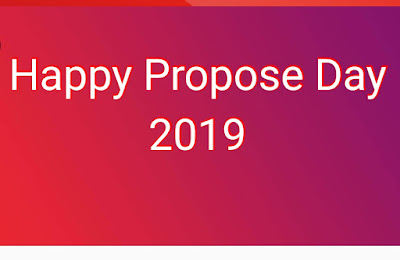 Happy Propose Day 2019, Propose to your love with a new idea
