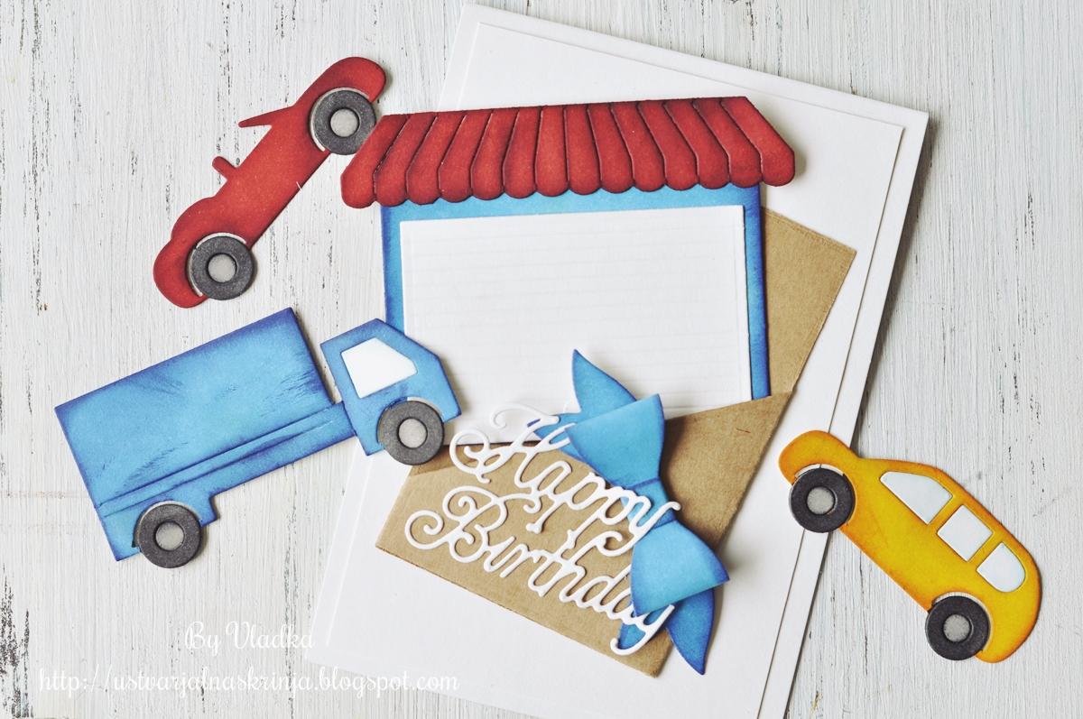 cottageblog cottagecutz challenge 5 birthday card