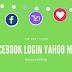 Sign Into Facebook with Yahoo