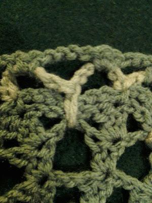 crochet, butterfly stitch, doily