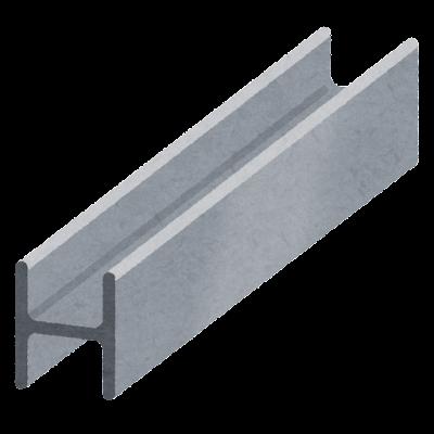H鋼のイラスト