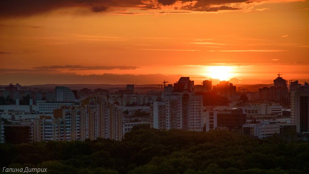 Минский закат фото