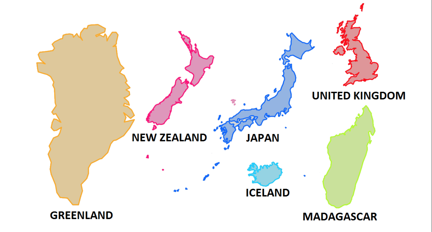 島国ニッポンの島々 [0カ国目: Japan]