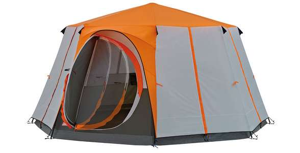 coleman tent cortes octagon review