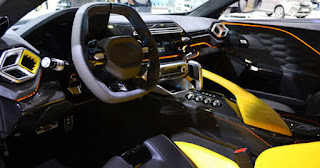 Zenvo TS1 Super Car Cabin Interior Picture