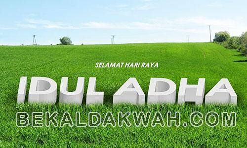 Contoh Khutbah Idul Adha Singkat Terbaru