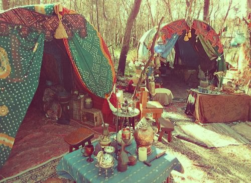 Beatiful Hippie Living Places and Hippie Lifestyle