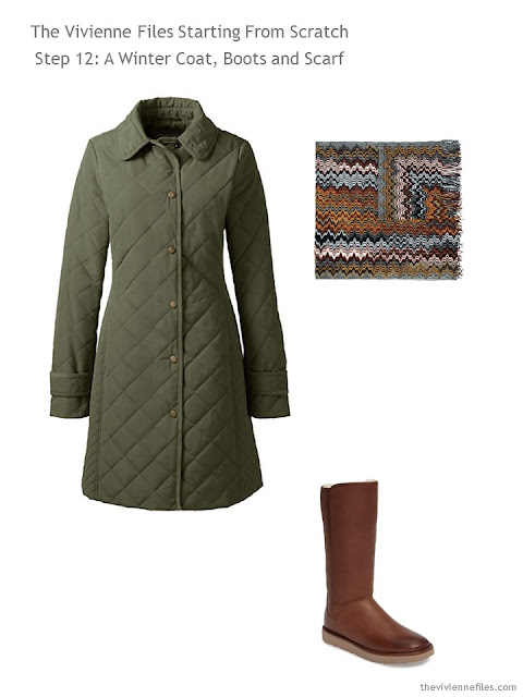 How to Build a Capsule Wardrobe: Starting From Scratch, Stage 4 - a winter coat and boots
