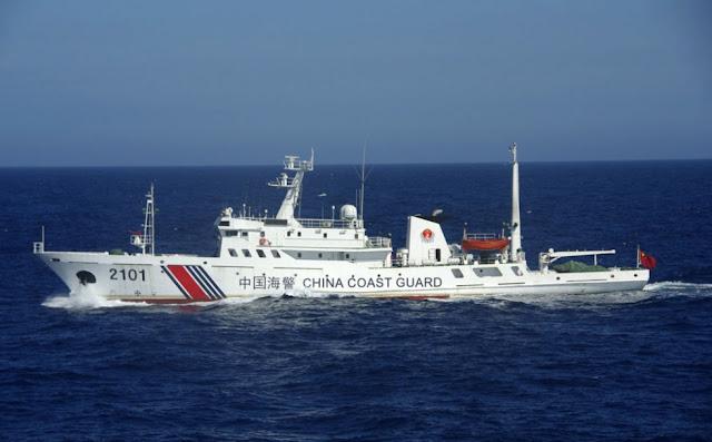 China Bantah Kapal Coast Guard Mereka Masuki Perairan Indonesia