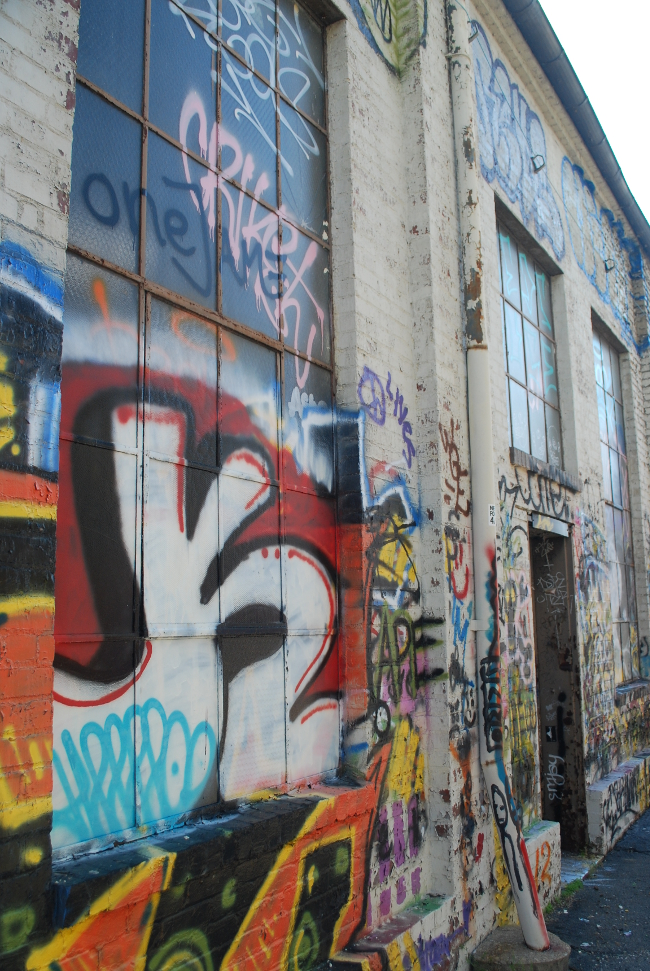RVA Street Art: The GRTC Bus Depot (Part III)   Yeti Crafts