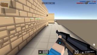 BLOCKPOST - Shooter gratuit cu grafica de minecraft