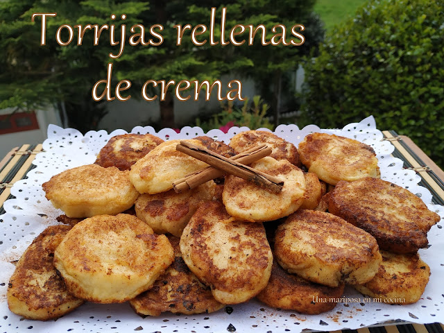 Torrijas Rellenas De Crema