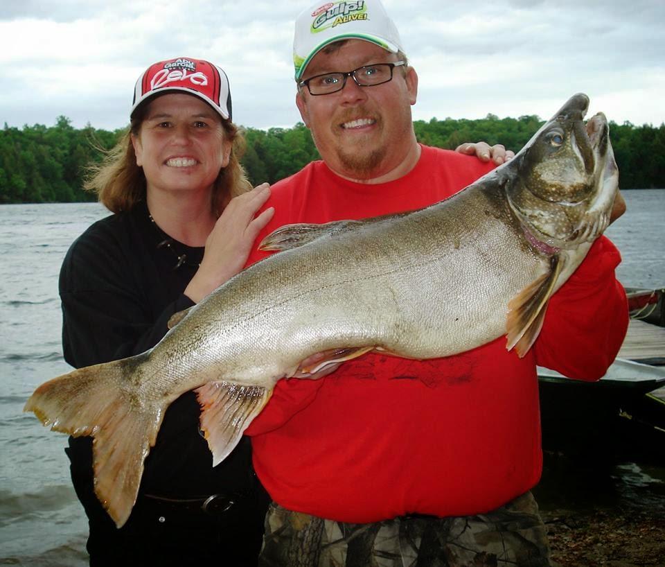 Danielle Marchand & Martin Leduc, le guide des meilleurs guides de pêche par Daniel Lefaivre, pêche Outaouais