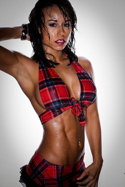 The Strong Force Jen Turnbull Beautiful Fitness Model