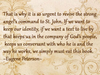Eugene Peterson On The Bible