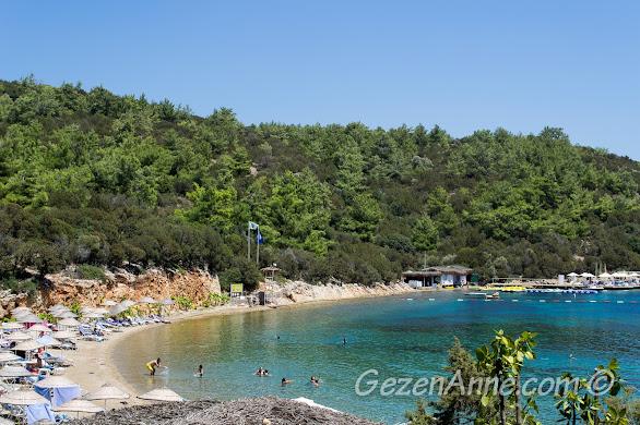Bodrum Yalıçiftlik denizinin hep dalgasız bir koyu, Bodrum Park resort otel