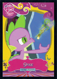MLP Spike [Twilight's Assistant] Series 2 Trading Card