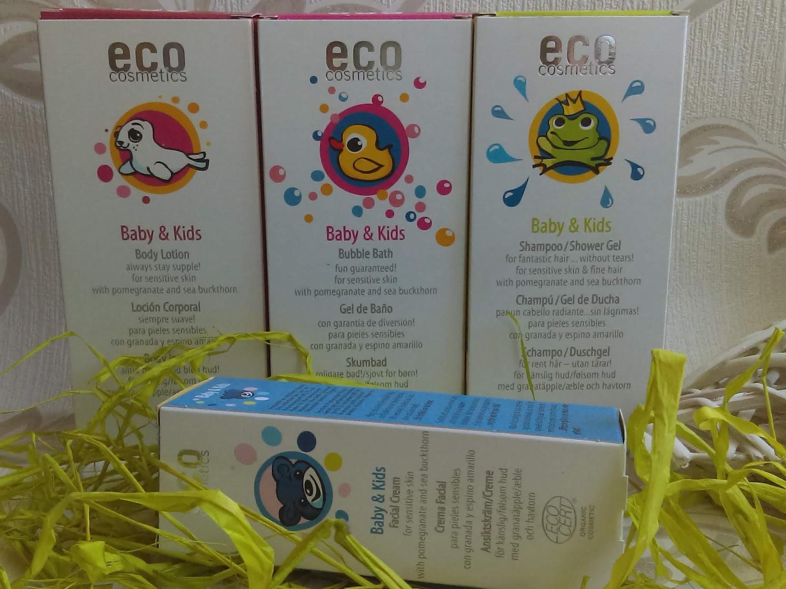 Eco Cosmetics- kosmetyki do pielęgnacji skóry dzieckado
