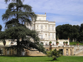 The 17th century Villa Doria Pamphili is situated in Rome's largest landscaped public park
