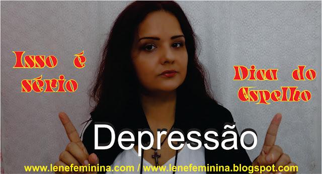 Dica do espelho para depressão