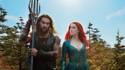 Aquaman -  Jason Momoa and Amber Heard