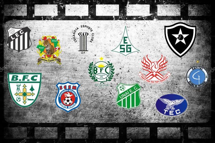 19fb0a1930 Escudos passaram por diversas mudanças até os dias atuais. Arte  Danilo  Queiroz Distrito do Esporte