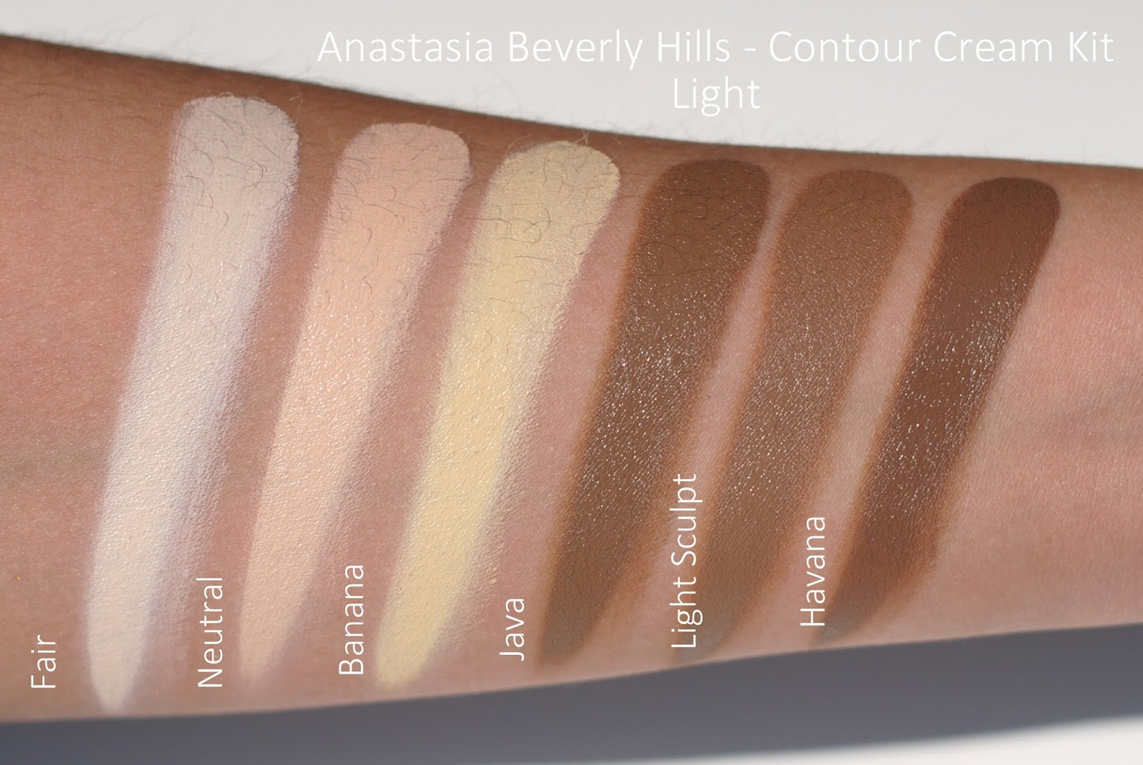 I Am A Fashioneer Abh Cream Contour Kit Comparison