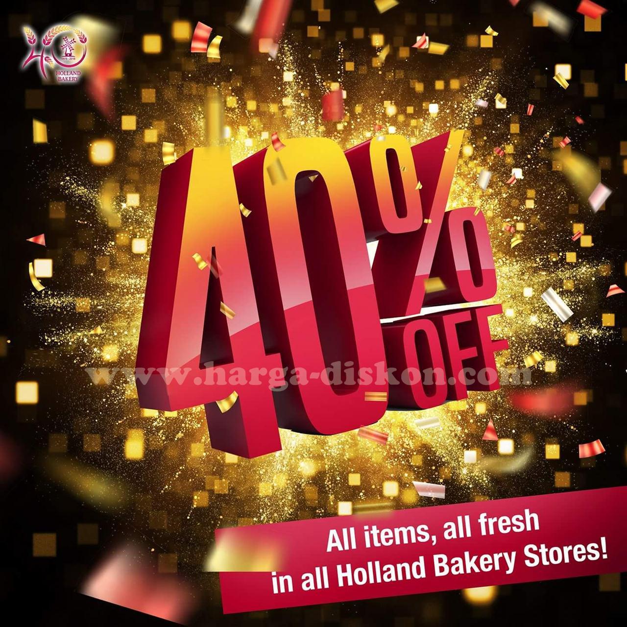 Promo HOLLAND Bakery Terbaru