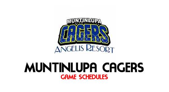 LIST: Game Schedule Muntinlupa Cagers 2018 MPBL Anta Datu Cup