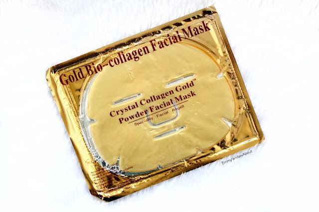 Crystal Collagen Gold Powder Face Mask