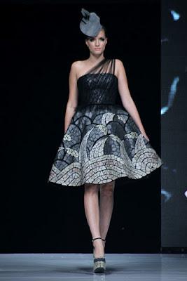 Model Kebaya Rok Pendek Desain Mekar