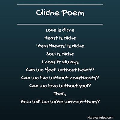 Image: Cliche Poem