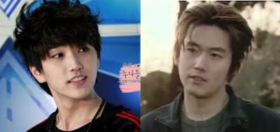 Sandeul and Jang Hyuk