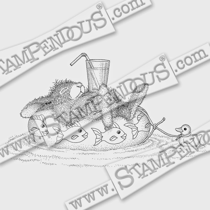 We got a batch of new Stampendous stamps in the store