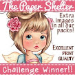 13 x The Paper Shelter Winner