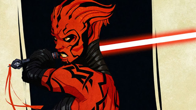 asari darth maul cross over