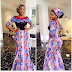 Long Ankara Lace Style For Ladies
