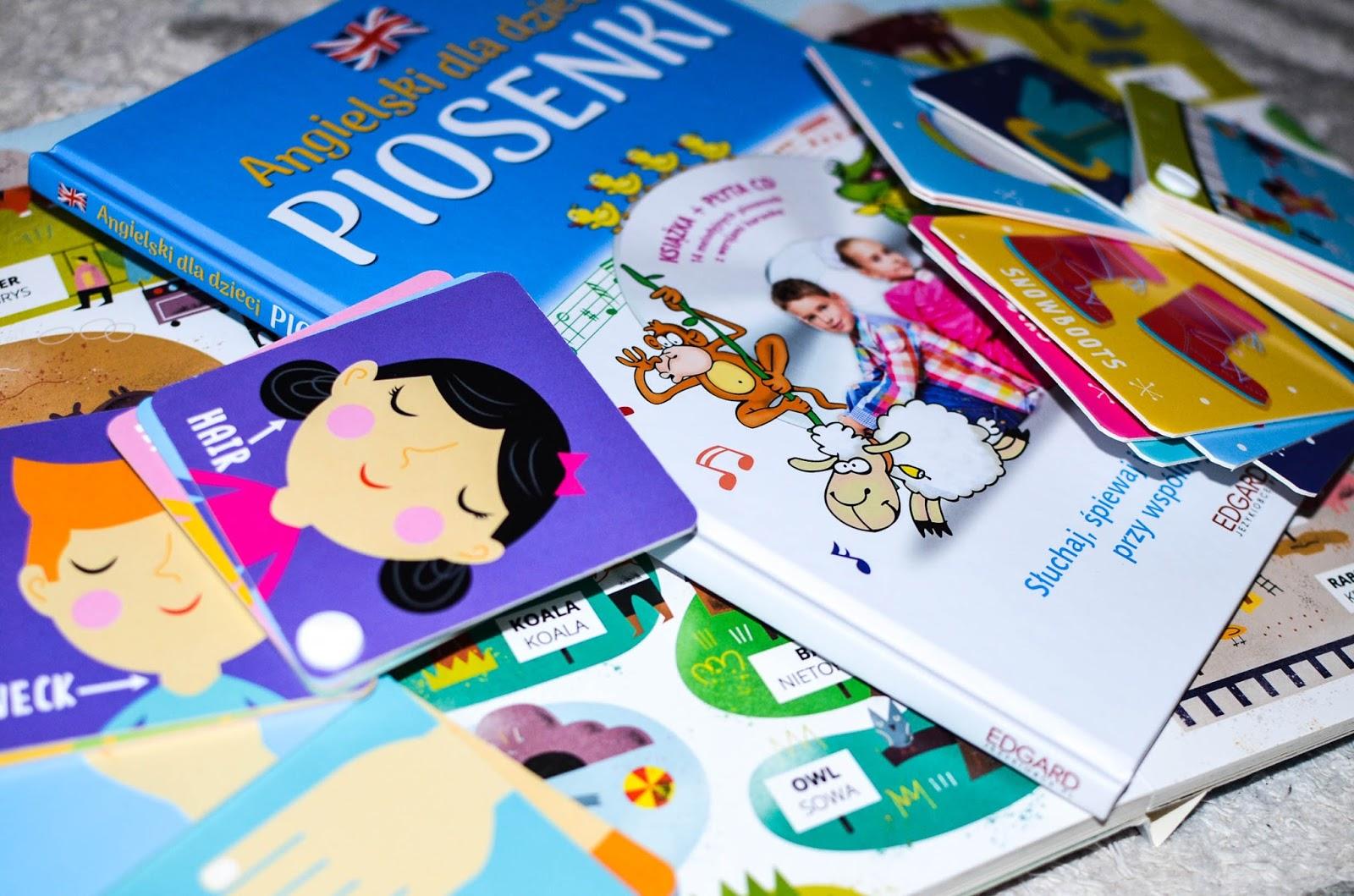książki dla przedszkolaka, nauka angielskiego dla dzieci, Edgard, Kapitan Nauka, 3-5, 0-2, karty obrazkowe, książki kartonowe,